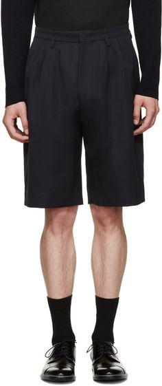 PAUL SMITH Blue Twill Tailored Shorts. #paulsmith #cloth #shorts