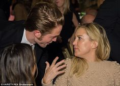 A-List: Robert Pattinson (L) and Kate caught up on Thursday night ...