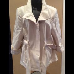 """Selling this """"Old Navy Wool Blend Pea Coat NWOT size XL Cream"""" in my Poshmark closet! My username is: dkellim. #shopmycloset #poshmark #fashion #shopping #style #forsale #Old Navy #Jackets & Blazers"""