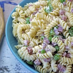 My homemade, copycat version of Ruby Tuesday's pasta salad. Perfect for a summer party!