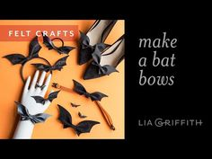 Go bat craft crazy with these eleven ways to wear our DIY bat bows! A fun accessory for vampires of all ages... Spooktacular style made simple! Halloween Bows, Halloween Outfits, Halloween Crafts, Haunted Halloween, Halloween Jewelry, Halloween Ideas, Felt Crafts, Crafts To Make, Coral Charm Peony