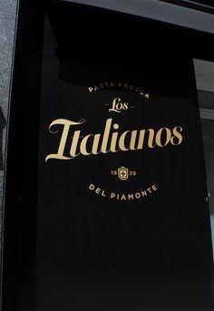 Los Italianos Branding by Huaman Studio