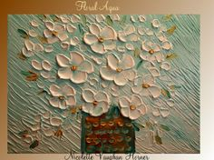 ORIGINAL  gallery painting on canvasContemporary impasto by artmod, $99.00