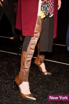 41 of the Best Shoes From Fall 2013 Fashion Week (Flats! Heels! Boots!): Fashion: glamour.com