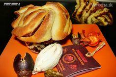 Čokoládové ruže (fotorecept) French Toast, Beef, Breakfast, Food, Basket, Meat, Morning Coffee, Essen, Meals