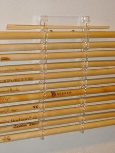 Drumstick Display Rack by 3DCarving on Etsy, $15.00