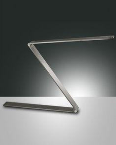 Fabas Luce Fitz LED Schreibtischleuchte anthrazit