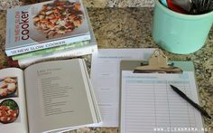 Perfect for makeahead meal planning! FREE Make-Ahead Recipe List via Clean Mama