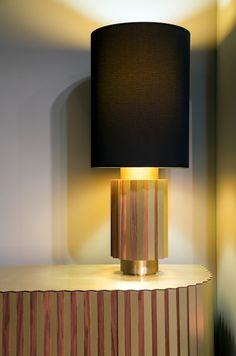 Shadow Table Lamp and Cabinet   #LeeBroom