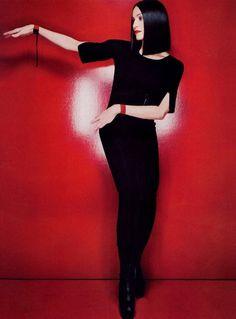 Like a Geisha I Harper's Bazaar US I February 1999 I starring Madonna I…