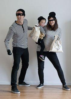 Disfraces caseros para familias