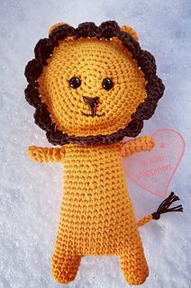 Lilo the Lion pattern by Kati Jäppinen
