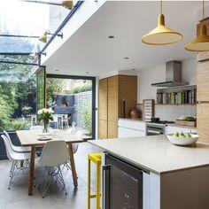 Open plan kitchen design | Kitchen design ideas | PHOTO GALLERY | Beautiful Kitchens | Housetohome