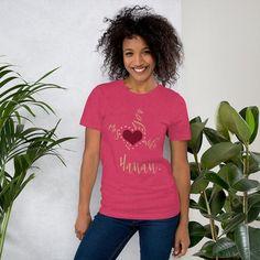 Bella + Canvas 3001 Unisex Short Sleeve Jersey T-Shirt with Tear Away Label I love My Wife #VoglioBene #ILoveMyWife #TeAmoMamá #mymom #AllaTuaMamma #lovehanan #Hanan #sweetlovehanan #iloveyoumom Thick And Fit, Provocateur, Unisex, Black Girls Rock, Facon, Pole Dancing, Boss Lady, Shirts For Girls, Mom Shirts