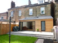 Traditional terraced house with extension in Glasgow Glasgow South Side