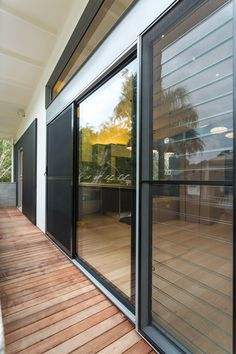ForceField security doors & window screens have undergone and passed every performance test & are Australia's best looking stainless steel mesh security screens Security Shutters, Window Security, Steel Security Doors, Security Screen, Sliding Screen Doors, Sliding Glass Door, Door Design, House Design, Stacker Doors