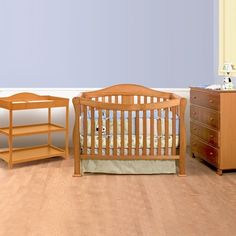 Davinci 3 Piece Nursery Set Parker 4 In 1 Convertible Crib Changing Table And