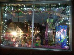 Mardi Gras Window at Greenlaws