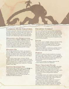 Hunting Giant Monsters [5E] - Imgur