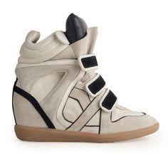 Baskets compensées, Isabel Marant, sneakers, moins cher