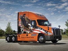 2007 Freightliner Cascadia Raised Roof semi tractor g wallpaper background Show Trucks, Big Rig Trucks, Chevy Trucks, Custom Big Rigs, Custom Trucks, Customised Trucks, Trailers, Freightliner Trucks, American Wallpaper
