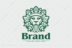 Logo for sale: Lion Beer Logo
