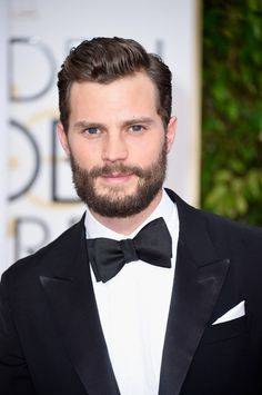 """47. The way she utters the line """"Oh my god, you exist!"""" Of course she's talking about Jamie Dornan. Because WHY does a beardless Jamie Dornan exist when he could look like this?! 
