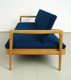 50er jahre franz ehrlich hellerau schreibtisch deutsche. Black Bedroom Furniture Sets. Home Design Ideas