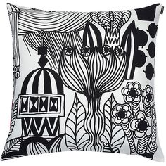 Marimekko Lintukoto pillow sham ($45) ❤ liked on Polyvore featuring home, bed & bath, bedding, bed accessories, pillows, decor, furniture, marimekko, marimekko bedding and marimekko bed linens