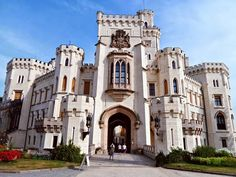 Hluboká Castle, Czech Republic, like a princess - Chateau de Princesse en Republique Tchèque (Hluboká)