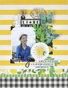 Memories Made #65: Scrapbooking Process Video with www.jengallacher.com #scrapbooking #scrapbookprocess #jengallacher