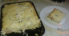 Tepsiben sült sonkás-sajtos szendvicslepény