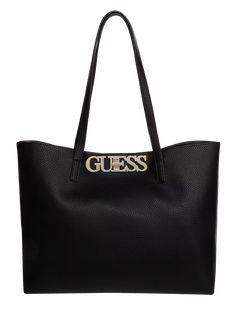 Shopper Tasche von Guess Schwarz