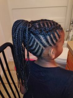 - All For Hairstyles Kids Curly Hairstyles, Baby Girl Hairstyles, Natural Hairstyles For Kids, Natural Hair Styles, Hairdos, Hairstyle Ideas, Little Girl Braids, Girls Braids, Fishbone Braid