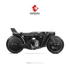 Barbara Custom Motorcycles - blacked out speed machine Triumph Motorcycles, Concept Motorcycles, Custom Motorcycles, Custom Bikes, Custom Choppers, West Coast Choppers, Moto Bike, Motorcycle Style, Ducati