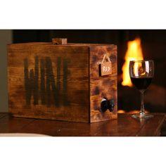Wine box wine dispenser decanter wedding reception by KMGstore