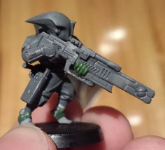 Sweet idea for a captured tau plasma rifle
