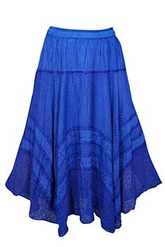 Women's Medieval Skirt Gothic Flared Blue Embroidered Ray... https://www.amazon.com/dp/B01FZBZJO0/ref=cm_sw_r_pi_dp_x_LMa-xbMEKW45B