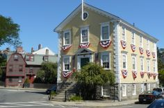 The Old Town House, Marblehead, Massachusetts Nana's House in background