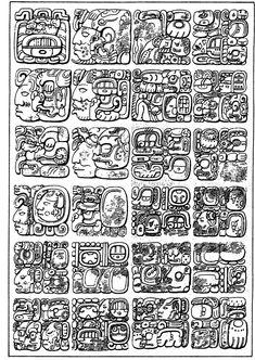 Mayan Glyph