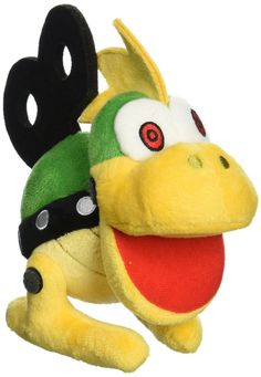 Nintendo Official Super Mario Mecha Koopa Plush, 6""