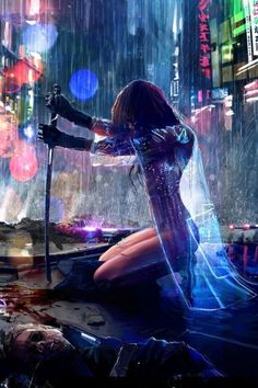 Tagged with art, cyberpunk; Shared by Cyberpunk art dump Arte Cyberpunk, Cyberpunk 2077, Cyberpunk Anime, Cyberpunk Fashion, Art Manga, Art Anime, Manga Anime, Sci Fi Art, Art Girl