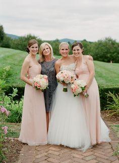 Photography: Jen Fariello - www.jenfariello.com Flowers by Southern Blooms  Read More: http://www.stylemepretty.com/mid-atlantic-weddings/2014/03/31/blush-pink-wedding-at-keswick-hall/