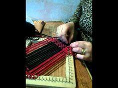 TELAR BASTIDOR CUADRADO tafetan en 2 colores - YouTube