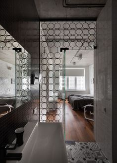 Ukrainian apartment designed by Sergey Makhno Architects