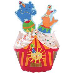 Zirkus Cupcake Wraps 'n Picks nur 3.90 EUR