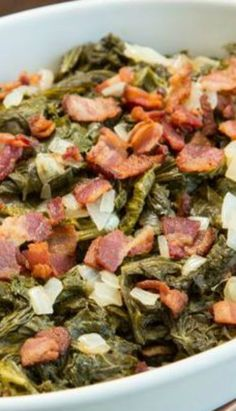 Get Southern Mustard Greens Recipe from Food Network Mustard Greens Recipe Southern, Cooking Mustard Greens, Mustard Recipe, Lamb Recipes, Veggie Recipes, Dinner Recipes, Cooking Recipes, Healthy Recipes, Green Soup