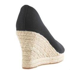 J. Crew Shoes | Nwt Jcrew Seville Espadrille Wedges | Poshmark Caged Sandals, Seville, Cashmere Sweaters, Mens Suits, Warm Weather, J Crew, Espadrilles, Wedges, Clothes For Women