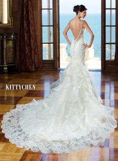 K1405 Tiana - Back View | 2015 Kitty Chen collection