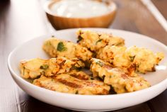 Yummy Veggie Starter: Squash And Zucchini Croquettes Yummy Veggie, Vegetable Recipes, Vegetarian Recipes, Healthy Recipes, Veggie Side Dishes, Vegetable Dishes, Healthy Cooking, Healthy Snacks, New Recipes